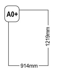 Formatul A0+